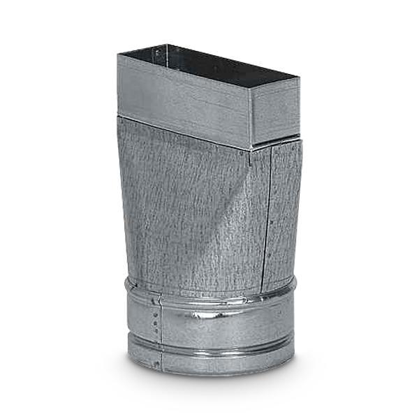 Reduzierung Schacht auf Flexschlauch sym. AA-Kaminwelt d 150 mm