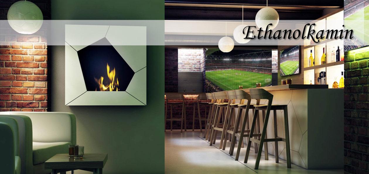 Ethanolkamin in einer Sportsbar