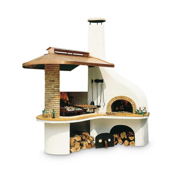 Outdoorküche Palazzetti Vulcano mit Backofen