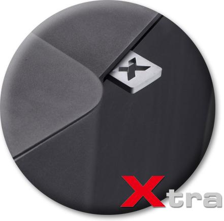 Produktdetailansicht mit Fokus auf den Xtra-Hebel