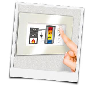 Display mit SMR Multi-Regelung von Schmid