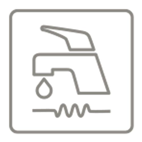 Faber fester Wasseranschluss