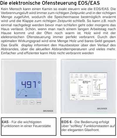 Brunner Abbrandsteuerung EAS + EOS