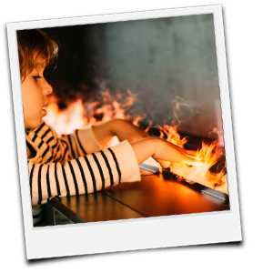 Flammenillusion Opty-Myst bei glim dimplex