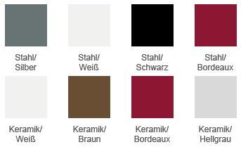 Pelletofen RED Loto Farben