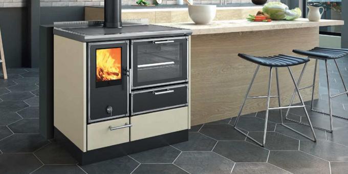 Kitchen Kamin KE 90 W Ambiente